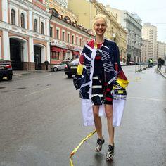 ff8e681c Why Olga Karput Is the Master of Mercedes-Benz Fashion Week Russia Street  Style