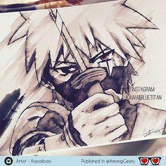 Hatake kakashi . . . #kakashi #hatake #hatakekakashi #naruto #narutoshippuden #uzumakinaruto #Draw #Drawing #Art #Fanart #Artist #Illustration #Design #sketch #doodle #tattoo #Arthelp #Anime #Manga #Otaku #Gamer #Nerdy #Nerd #Comic #Geek #Geeky . . Geek drawings gallery.  Use #AmongGeeks for a chance to be featured  Artist credit