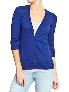 Size Medium Women's Lightweight Cardis Just Blue It. MAC Atlantic Blue maybe matches Just Blue It and/or Royal Rowena