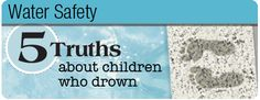 Simple steps to take that will help keep your children safe around water.
