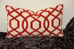 Iman Sultana Amaryllis  12 x 20 Decorative by PillowTalkandMore, $35.00