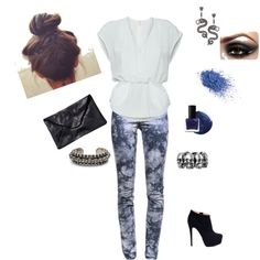 FEELING BLUE, created by marmar2820 on Polyvore