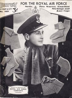 Knit for Victory vintage knitting patterns   http://www.theretroknittingcompany.co.uk/ww2serviceknits.html