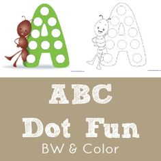 All ABCs ~ Free Alphabet Printables. my daughter loves to do this type of stuff with bingo markers