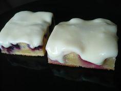 Crazy Baker: Vadelma- ja mustikkaruudut Pudding, Eggs, Breakfast, Desserts, Food, Morning Coffee, Tailgate Desserts, Deserts, Custard Pudding