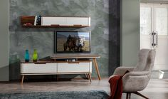 Sır Ahşap Tv Ünitesi Krem #diningroom #bedroom #avangarde #modern #pinterest #yildizmobilya #furniture #room #home #ev #young #decoration #moda #trend      http://www.yildizmobilya.com.tr