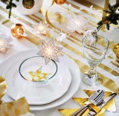 SCANDIMAGDECO Le Blog: Inspirations tables de noël - table of christmas