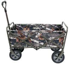 Buy Mac Sports Collapsible Folding Outdoor Garden Utility Wagon Cart, Camouflage at Wish - Shopping Made Fun Garden Wagon, Wheelbarrow Garden, Yard Cart, Folding Wagon, Beach Wagon, 150 Pounds, 150 Lbs, Utility Cart, Steel Frame