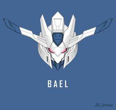 Fallout Concept Art, Robot Concept Art, Game Concept Art, Gundam Bael, Barbatos Lupus Rex, Blood Orphans, Gundam Iron Blooded Orphans, Gundam Wallpapers, Gundam Mobile Suit