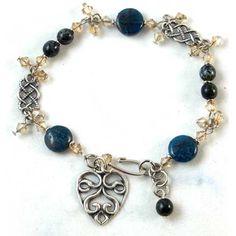 Tutorials | Gemstone Apatite Bracelet | Handmade Fashion Jewellery – Devoted to DIY Jewellery