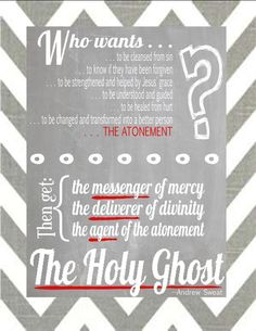Holy Ghost Handout w/ reference to the RedHeaded Hostess