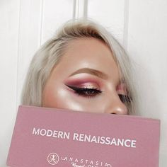 loving the @anastasiabeverlyhills modern renaissance palette i can't believe i waited so long to finally get my hands on it it has everything essential for a natural look, or something a little more dramatic. definitely a must have! ✨ ⠀⠀⠀⠀⠀⠀⠀⠀ FACE: @lorealmakeup pro glow foundation #abh contour kit: light/medium @coverfx enhancing drops: celestial @jeffreestarcosmetics skin frost: ice cold EYES: all shadows are from the #modernrenaissance palette @iconalashes 'i see you boo' lashes (u...