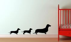 Dachshund Decor for the Nursery and Beyond - I'm pretty sure this article was written just for me! :)