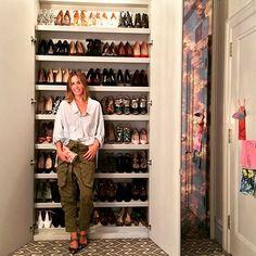 This week's #MRNewYorkClosets contestant is @edie_parker's Brett Hayman + her shoes.