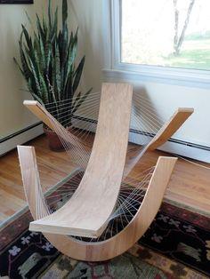 Sculptural Lounge Chair