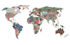 #LOUISARMSTRONG TOLD US SO by @biancagreenart #Photocircle #PhotoMontage #design #illustration #colorsplash #collage #worldmap #travel #wanderlust #fernweh #worldofartists #worldtravel #worldingram #globalcitizen #globus #interiordesign #decoration #decor #homedesign #artprint #wallart #socent #giftsthatgive #giveback