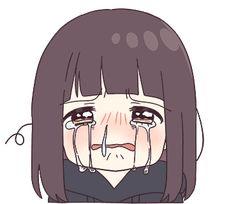 It is a cute sticker of kurumi-chan. Dibujos Anime Chibi, Cute Anime Chibi, Cute Anime Pics, Anime Neko, Anime Love, Manga Anime, Anime Girl Drawings, Anime Couples Drawings, Kawaii Drawings