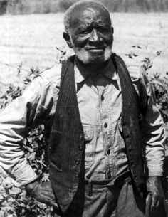 TONY DAVIS, former slave, was born in Leon County in 1845. He served his owner at the front during the Civil War. After freedom, he returned to the plantation in Jefferson County, Florida and raised his family there. He was 93 years old when this photo was taken in 1938. (State Archives of Florida.)