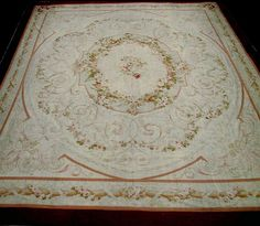 View our collection of antique European rugs including Antique Aubusson rugs and antique Savonnerie. We also have European reproduction rugs. Aubusson Rugs, Rugs On Carpet, Carpets, Fabric Rug, Magic Carpet, French Antiques, Needlepoint, Home Accessories, Vintage World Maps