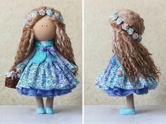 Tilda la muñeca muñeca muñeca hecha a mano por AnnKirillartPlace