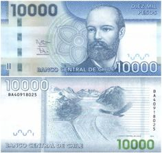 Chile Pesos banknotes for sale. Dealer of quality collectible world banknotes, fun notes and banknote accessories serving collectors around the world. Over 5000 world banknotes for sale listed with scans and images online. Chile, Visa Card, Ephemera, Money, Personalized Items, Stamp, Cards, Stuff To Buy, Ebay