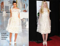 Elle Fanning In Louis Vuitton – 'We Bought a Zoo' New York Premiere