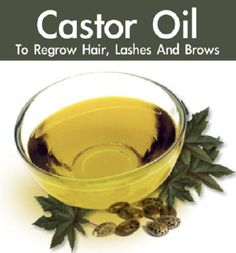 This Oil Is Great For Regrowing And Thickening Hair, Eyebrows And