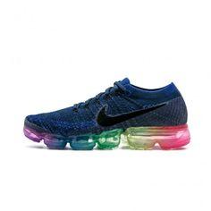 brand new a3cca 0e977 Cheap Nike Air Vapormax Flyknit Blue Mens Running Shoes