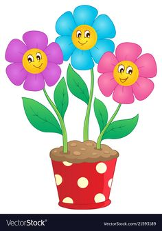 Flower theme image 7 vector image on VectorStock Playroom Printables, Classroom Decor Themes, Art Drawings For Kids, Drawing For Kids, Cartoon Flowers, School Frame, Flower Clipart, Printable Coloring Pages, Fabric Painting