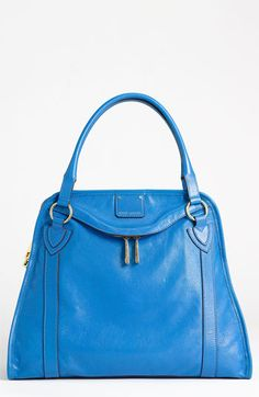 MARC JACOBS 'Wellington' Leather Satchel available at #Nordstrom ---WAY too expensive for my blood, but it sure is pretty.