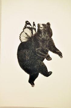 Bär-Schmetterling TBB Himmel V006
