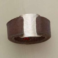 leather ring - Google Search