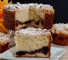 Raspberry Ripple Coffeecake