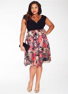 Adelle Dress in Sienna Floral