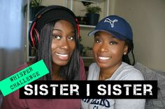 Whisper Challenge - fun game, ideal for parties, dates, sleepovers or even just at home with your sister. The purpose of the game is to guess what the another person is saying while wearing headphones and listening to music Sleepover, Listening To Music, Fun Games, Whisper, Dates, Purpose, Headphones, Sisters, Challenges
