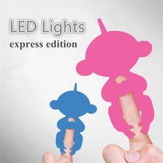 mignon intelligent color alevins bb singe main et pieds dynamique doigt singe juguetes lectronique animaux alatoire envoyer jouets lectroniques