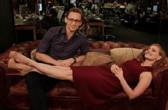 VIDEO: #TomHiddleston and Jessica Chastain on Huff Post Live.  October 16, 2015.