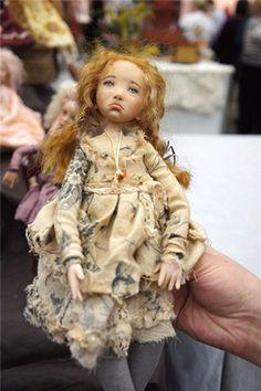 Вероника - авторская кукла Натали Ворожко / Авторские куклы и игрушки у нас дома / Бэйбики. Куклы фото. Одежда для кукол