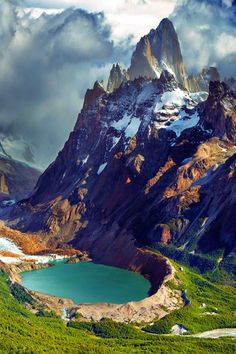 Mount Fitz Roy, Argentina. Patagonia is a definite travel goal!