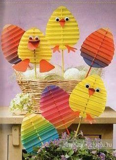 Full of ideas to do activities around easter with children. DIY easter Full of ideas … Easter Art, Easter Projects, Bunny Crafts, Easter Crafts For Kids, Easter Eggs, Easter Activities, Preschool Crafts, Diy And Crafts, Paper Crafts