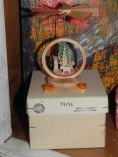 Miniature Wood Pyramid Handmade Collectible by baublesandblingforu, $12.00