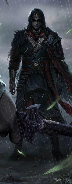 Mikaere [Микаере] Kingdom's guardian. Fell in love with Iona.
