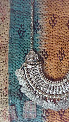 www.etsy.com/ca/shop/KUCHII  Silver Turkish Coin Necklace!