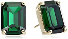 kate spade #newyork Emerald Cut Stud #Earrings http://amzn.com/B00LPEKUYG?tag=thep0658-20 #jewelry
