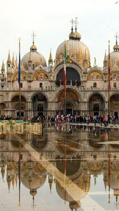 St Mark's Square of Venice, Italy. ....like being in a movie......