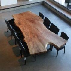 Boomstamtafel - Braamhorst Interieurs showroom