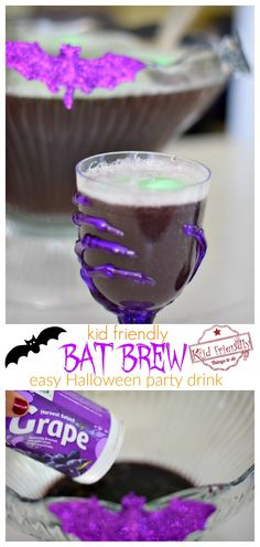 alcohol punch recipes Create this fun non-alcoholic party drink that's easy to make for your kid's Halloween Party. This Halloween Punch Recipe for Kids is fun and yummy too! Halloween Punch For Kids, Halloween Drinks Kids, Halloween Food For Party, Halloween Crafts, Halloween Ideas, Halloween Dinner, Hallowen Party, Halloween Favors, Halloween Recipe