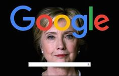 Google censoring searches on Hillary
