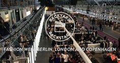 BACKYARD BACKSTAGE - FASHION WEEK BERLIN, LONDON UND KOPENHAGEN