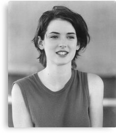 """Winona Ryder is perhaps the epitome of uniqueness in the glitzy and glamourous world that is Hollywood. SheRead More """"The Winona Ryder Hairstyle"""" Short Hair Tomboy, Short Grunge Hair, Girl Short Hair, Short Hair Cuts, Models With Short Hair, 80s Short Hair, Pixie Cuts, Short Pixie, Tomboy Hairstyles"""